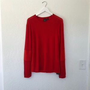AX Armani Exchange Red Sweater